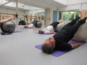 Pilates video lessen